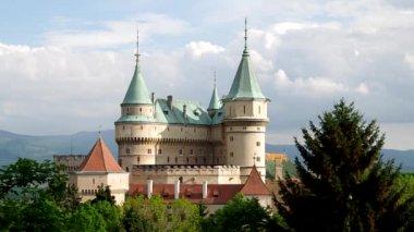 Castle in Bojnice, Slovakia — Stock Video