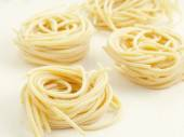 Pici, italian pasta — Stock Photo