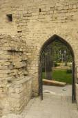 Entrance in the wall of the old city of Baku, Azerbaijan — Foto Stock