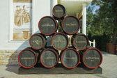 Wine tasting restaurant — Stock Photo