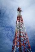 Telecommunication pole — Stock Photo