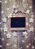 Empty blackboard — Stock Photo