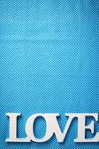 Word love  — Stock Photo