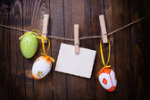 Easter eggs. — Stock Photo