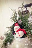 Decorative christmas background — Stock Photo