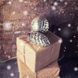 Festive gift boxes — Stock Photo #61529433