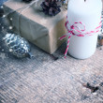 Festive gift boxes — Stock Photo #61529465