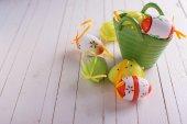 Easter eggs. — Stock Photo