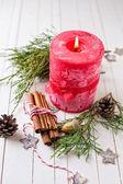 Composición de Navidad decorativos — Foto de Stock