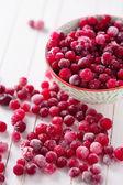 Frozen cranberry — Stock Photo