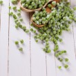 Frozen green peas — Stock Photo #62916459