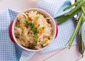 Homemade sauerkraut — Stock Photo