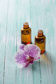 Extract of orxid flowers — Stock Photo