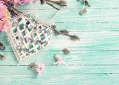 White decorative heart — Stock Photo