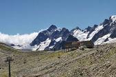 кавказские горы — Стоковое фото
