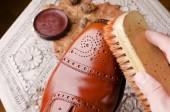 茶色の靴 — ストック写真