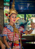 Danse traditionnelle thaïlandaise — Photo