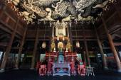 Twin Dragons Painting on the Ceiling at Kenninji Temple in Kyoto — Stock Photo