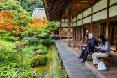 日本京都 Eikando 电子寺 — 图库照片