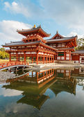 The Phoenix Hall of Byodo-in Temple in Kyoto, Japan — Stock Photo