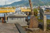 Murasaki Shikibu statue in Kyoto — Stock Photo