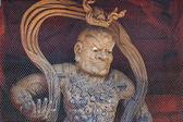Nio (慈悲王)、和歌山県の高野山 (高野山) 地区大門ゲート日本 — ストック写真