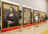 Reproduction of famous painting in Osaka — Stock Photo