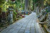 Okunoin Temple with Graveyard Area at Koyasan (Mt. Koya) in Wakayama — Stock Photo
