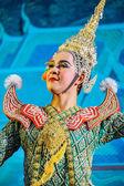 Хон - тайский традиционный танец Рамаяна эпической саги — Стоковое фото