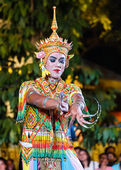 Thai Traditional Culture Festival - Nora - Thai Southern Dance — Stock Photo