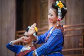 Thai Traditional Culture Festival - The Northern East People — Stock Photo