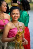 Thai Traditional Culture Festival — Stock Photo