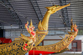 Thailändska kungliga pråm Museum — Stockfoto