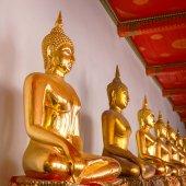 Buddha Statue in Wat Pho (Pho Temple) in Bangkok — Stock Photo
