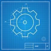 Vektorové plán zařízení karta. — Stock vektor