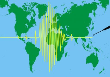 Seismograph background