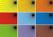 Fond de couleur abstrait — Vecteur
