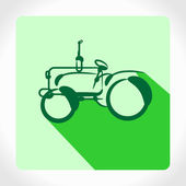 应用程序图标拖拉机 — 图库矢量图片