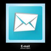 Mail,  envelope, letter post — Stock Vector
