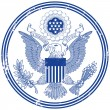 Great Seal of the United States — Stock Vector #60739637