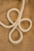 Rope with a loops — Stock Photo