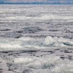 Frozen Lake Baikal. Winter. — Stock Photo #57129561