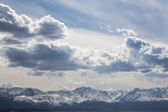 Top of mountains — Stock Photo