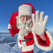 He, Kinder. Ich bin der Nikolaus! — Stockfoto