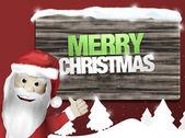 圣诞圣诞老人 — 图库照片