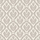 Seamless floral damask pattern for wedding invitation — Stock vektor