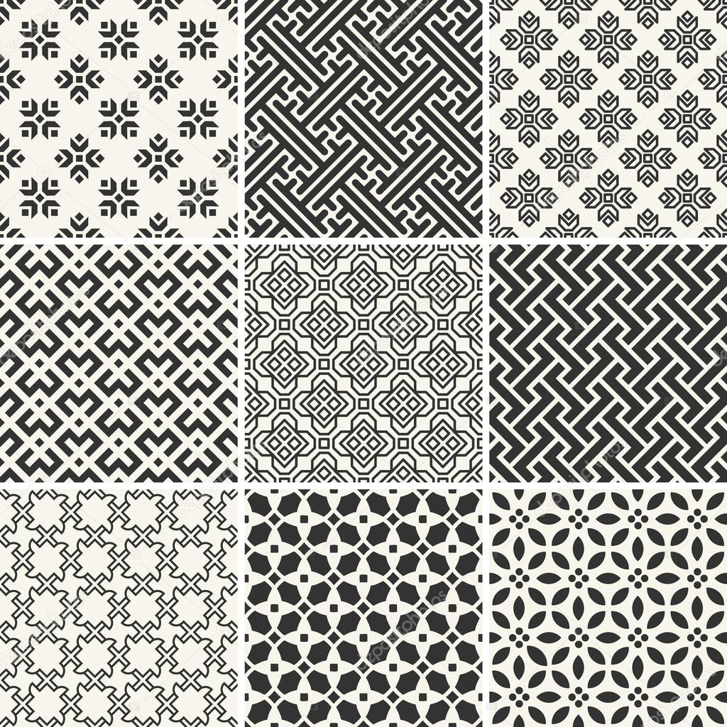 Free vector simple patterns