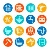 Home repair web icon set — Stock Vector