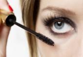 Makeup Closeup.Eyes Make-up — Stockfoto