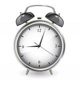 иллюстрация будильника — Cтоковый вектор